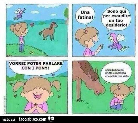 Risultati immagini per meme parlare pony