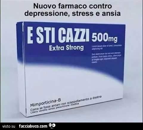 i farmaci per la depressione