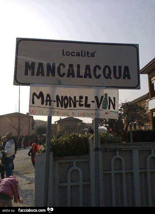 Localit mancalacqua ma non el vin - Dopo colonscopia non vado in bagno ...